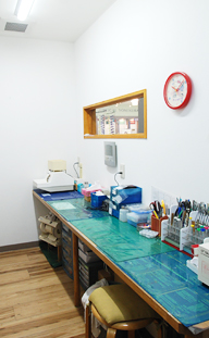 調整・加工室