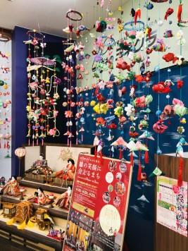 須賀川 ひな祭り つるし雛